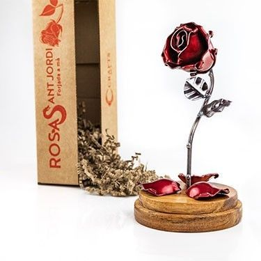 Forging Art Bcn - Roses with dome