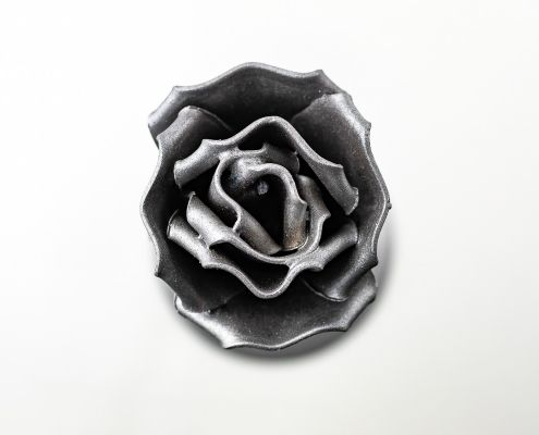 Handmade Wrought Iron Eternal Rose